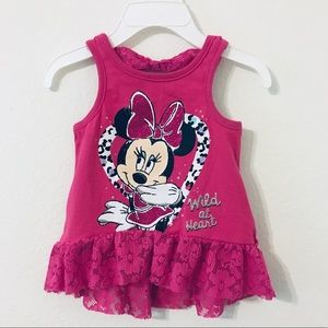Minnie Mouse Wild at Heart Tank Top